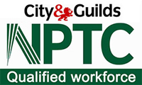 City & Guilds NPTC Qualified Workforce logo